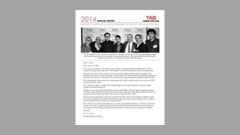 TAG 2014 Annual Report