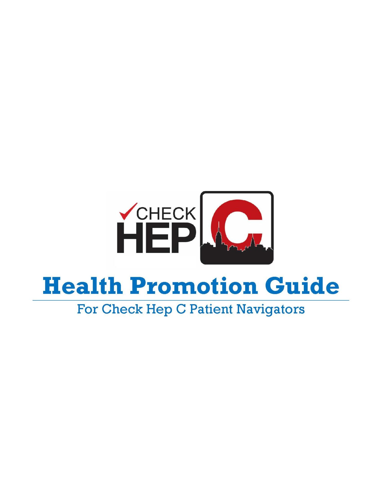 Program Check Hep C Health Promotion Guide 2016