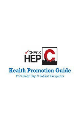 Program Check Hep C Health Promotion Guide 2016 330x500