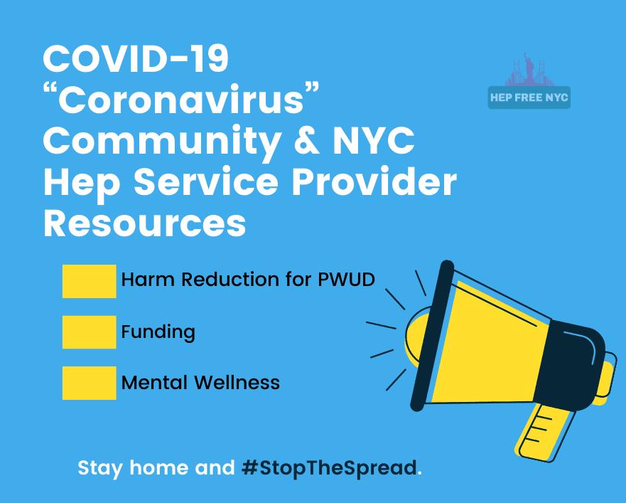 Coronavirus Hepatitis Community Resources Hep Free Nyc